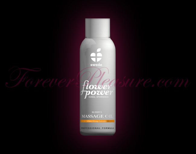 Swede Flower Power Massage Oil - Blissful (1.7oz)