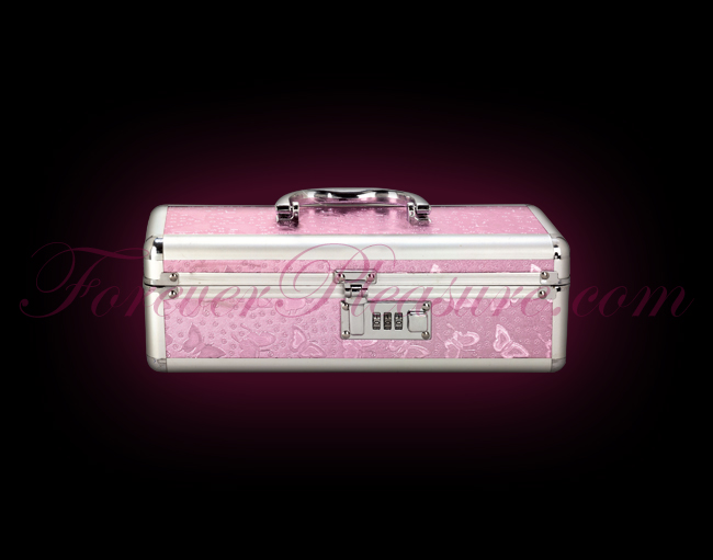 Lockable Toy Case Medium - Pink