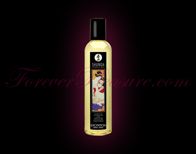 Shunga Erotic Massage Oil - Excitation Orange