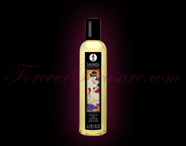 Shunga Erotic Massage Oil - Libido Exotic Fruit