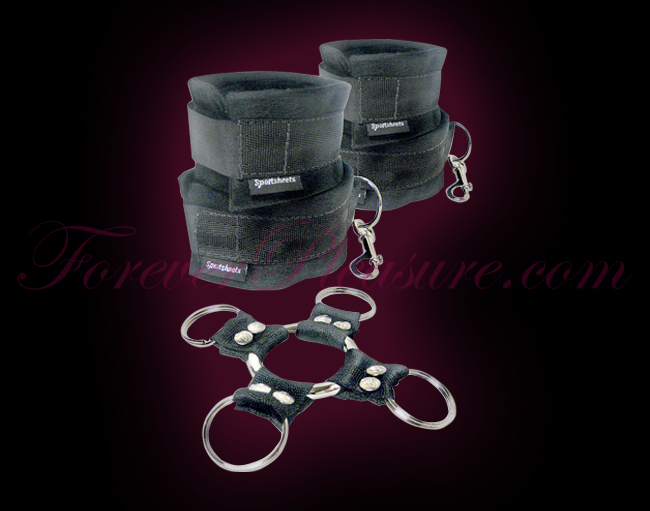 Sportsheets Five Piece Hog Tie & Cuff Set