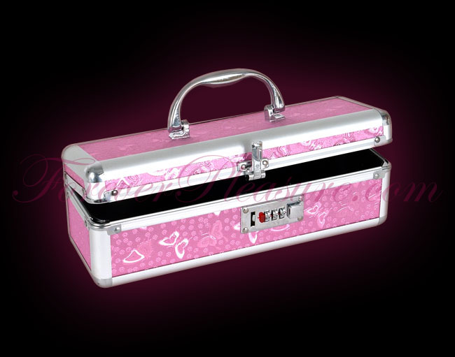 Lockable Case Medium - Pink