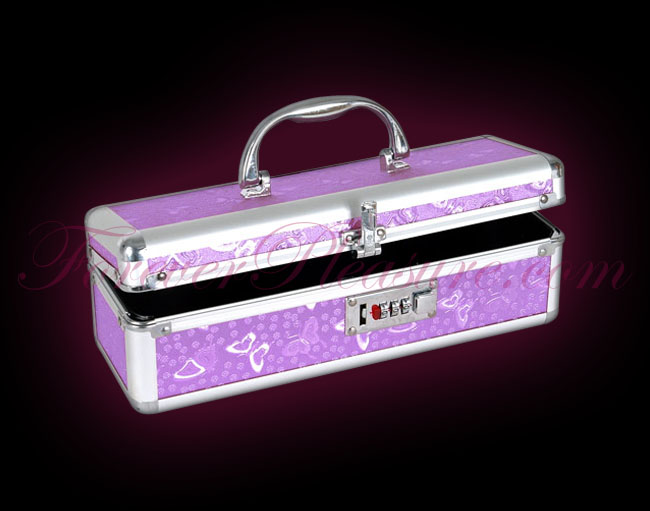Lockable Case Medium - Purple