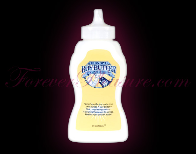Boy Butter (9oz Squeeze Bottle)