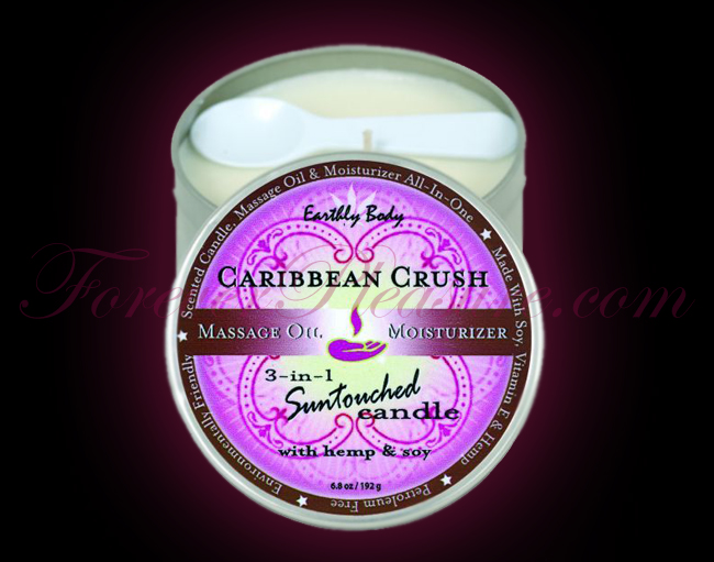 Earthly Body 3-in-1 Suntouched Candle - Carribean Crush (6oz)