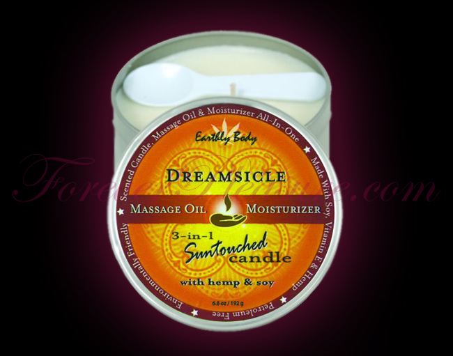 Earthly Body 3-in-1 Suntouched Candle - Dreamsicle (6oz)