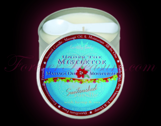 Earthly Body 3-in-1 Suntouched Candle - Under The Mistletoe (6oz