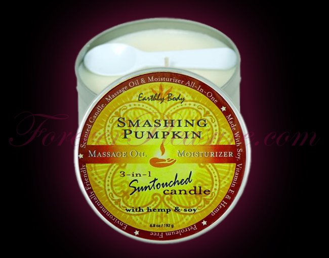 Earthly Body 3-in-1 Suntouched Candle - Smashing Pumpkin (6oz)