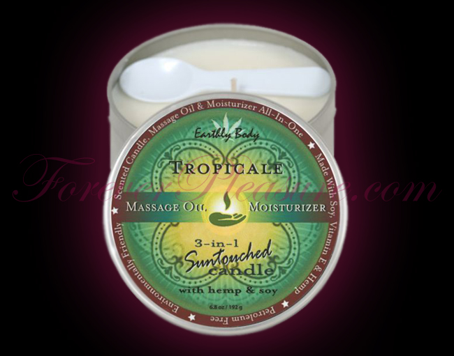 Earthly Body 3-in-1 Suntouched Candle - Tropical (6oz)