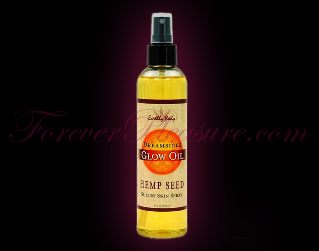 Earthly Body Glow Massage Oil - 8oz Dreamsicle