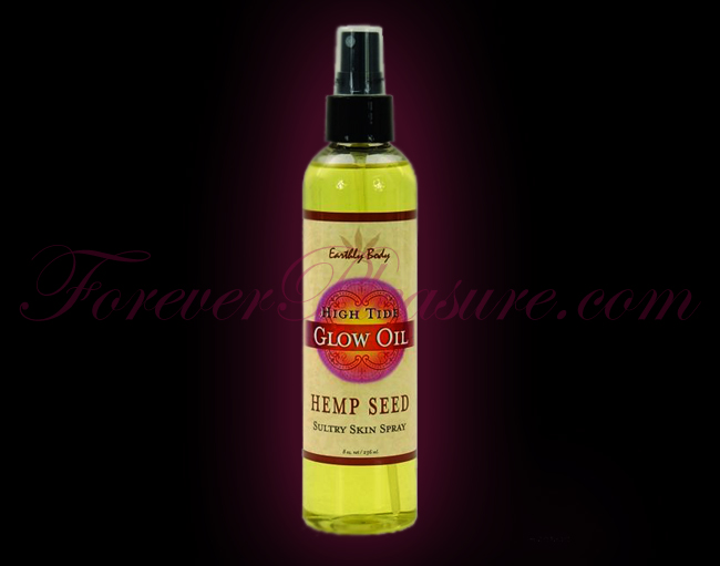 Earthly Body Glow Massage Oil - 8oz High Tide