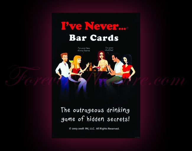 I've Never... Bar Cards
