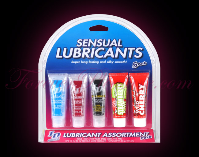 ID Sensual Lubricants - 5 Pack (.42oz each)