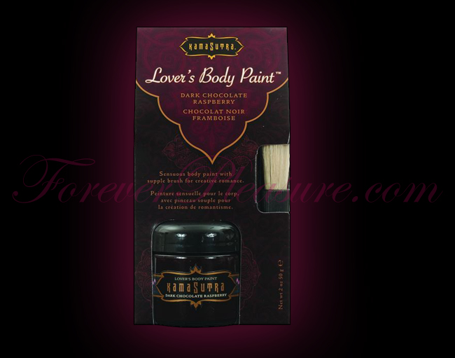 Kama Sutra Lover's Body Paint - Dark Chocolate (2oz)