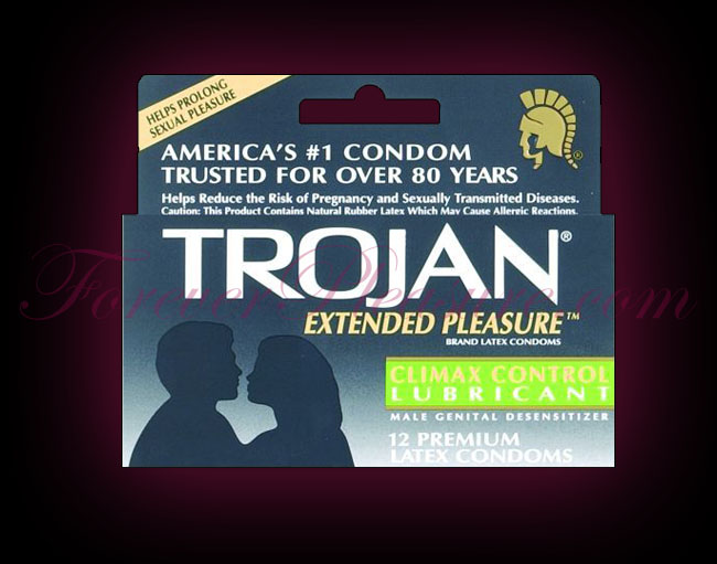 Trojan Extended Pleasure (12 Pack)