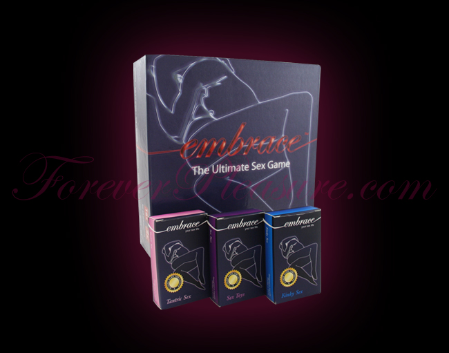 Embrace & 3 Embrace Your Sex Life Card Packs