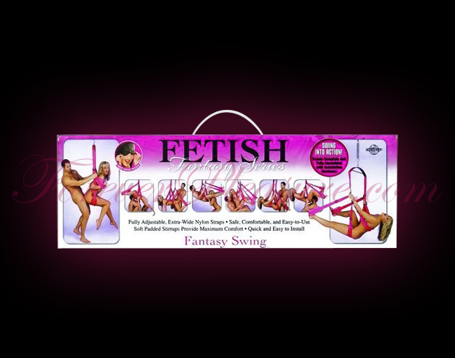Fetish Fantasy Series Sex Swing - Pink