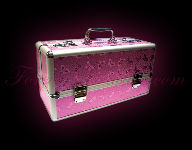 Lockable Toy Case Large - Pink