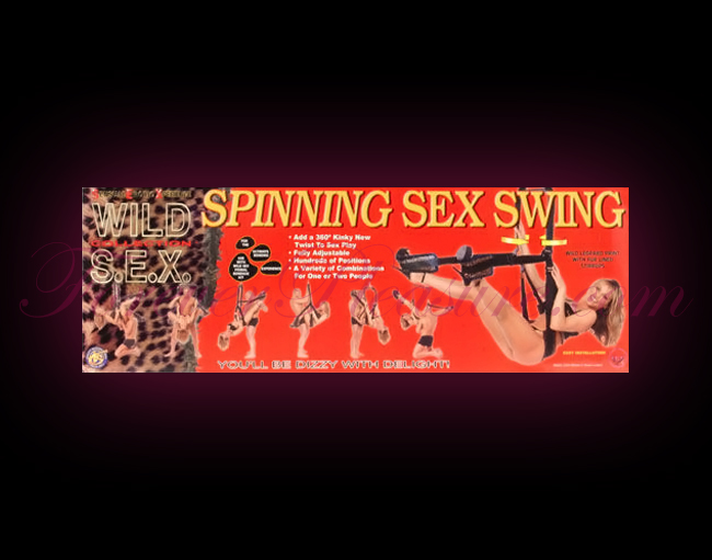 Spinning Sex Swing - Leopard