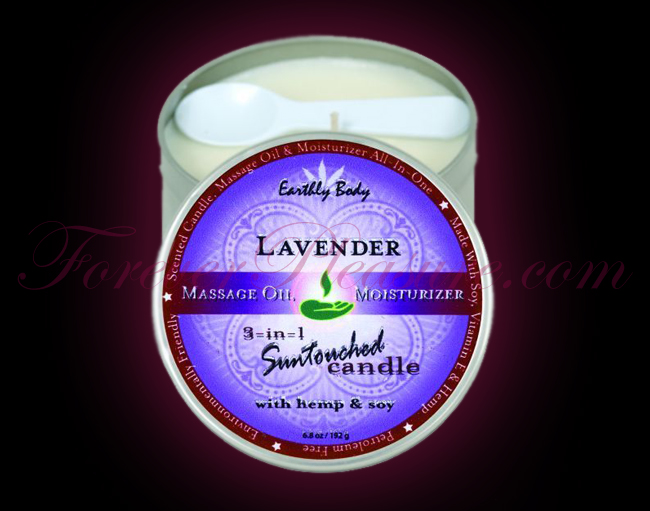 Earthly Body 3-in-1 Suntouched Candle - Lavender (6oz)