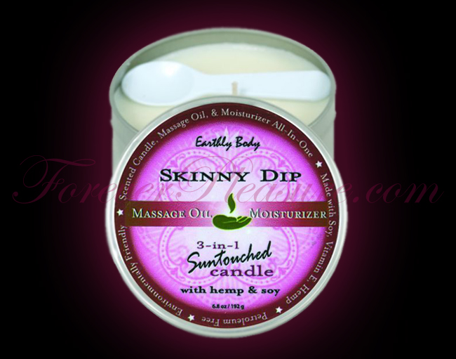 Earthly Body 3-in-1 Suntouched Candle - Skinny Dip (6oz)