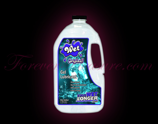 WET Original H20 Gel (1 gallon)